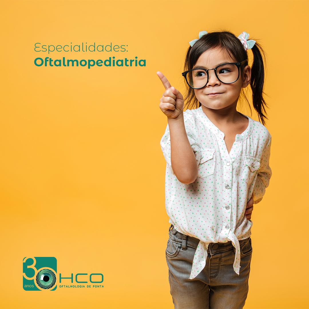 A saúde dos olhos das crianças não deve ser negligenciada