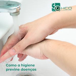 Como a higiene previne doenças