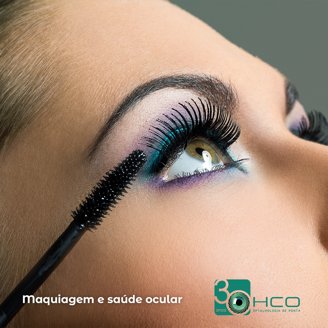Maquiagem e saúde ocular