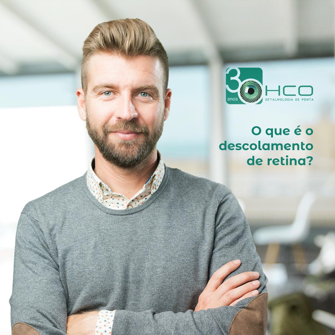 O que é o descolamento de retina?