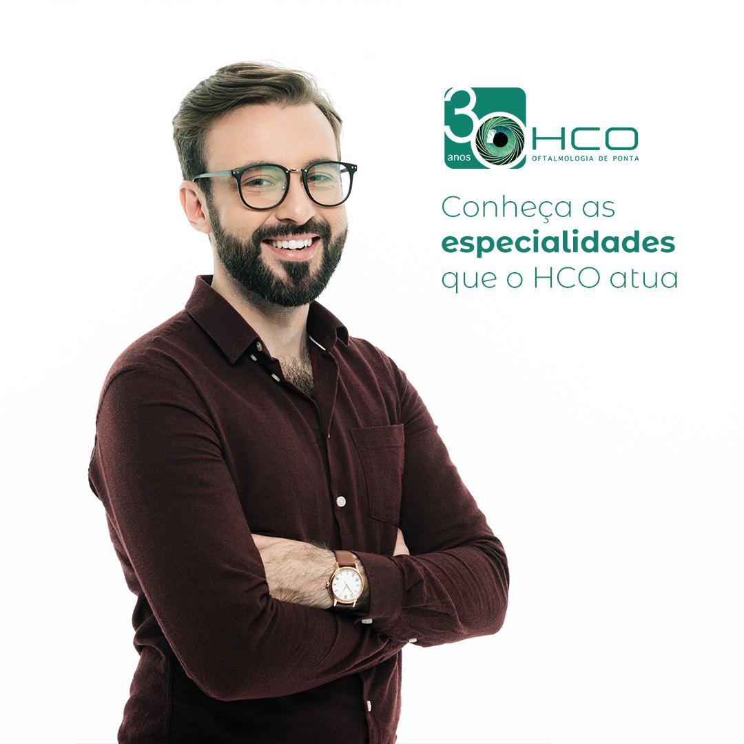 Conheça as Especialidades do HCO.