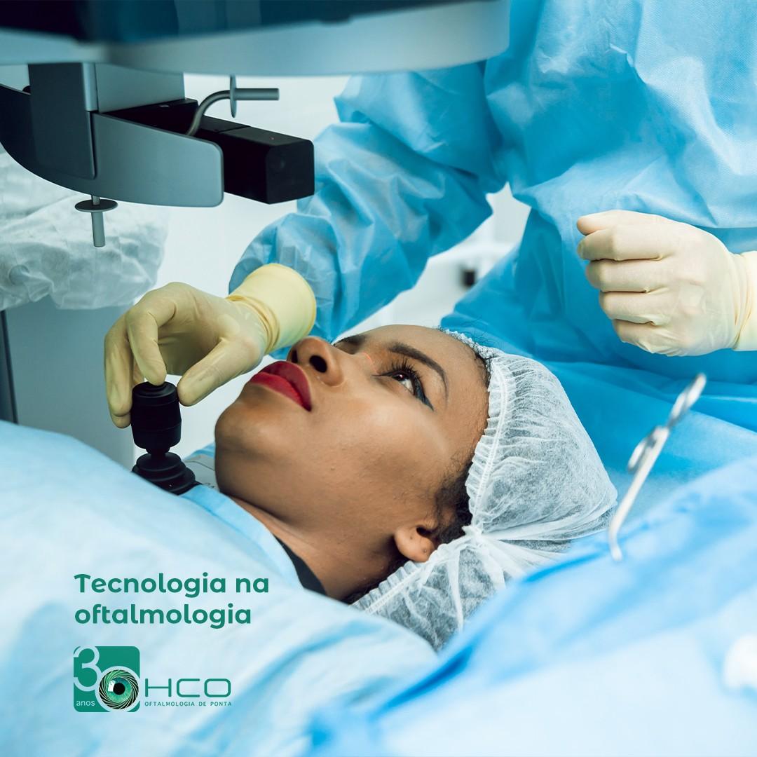 Tecnologia na oftalmologia
