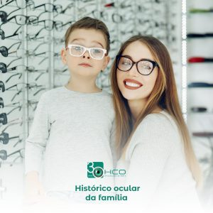 Histórico ocular da família