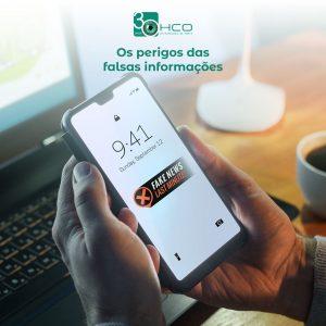 Os perigos das falsas informações