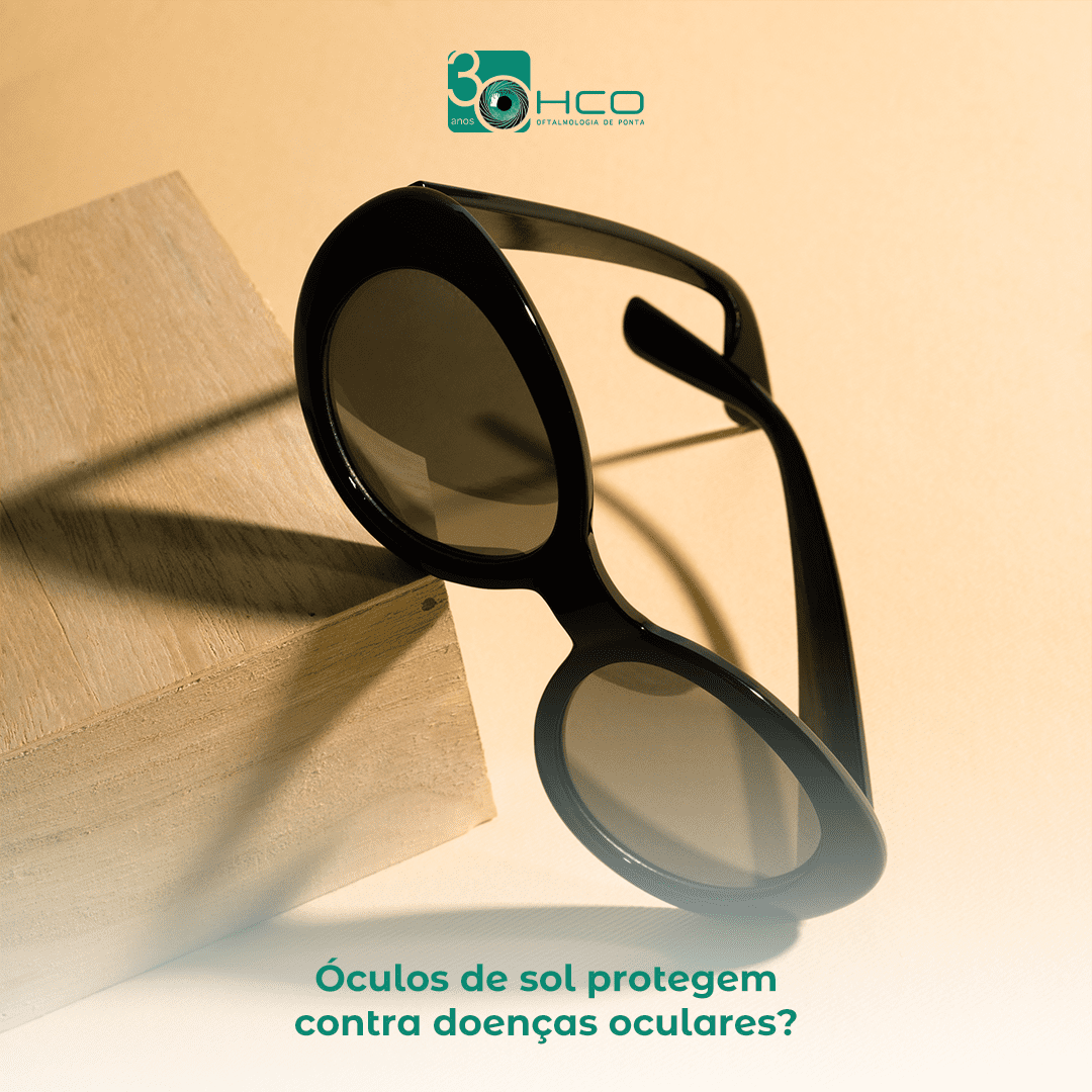 Óculos de sol protegem contra doenças oculares?