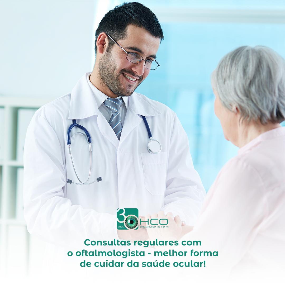 Consulta médico-oftalmológica