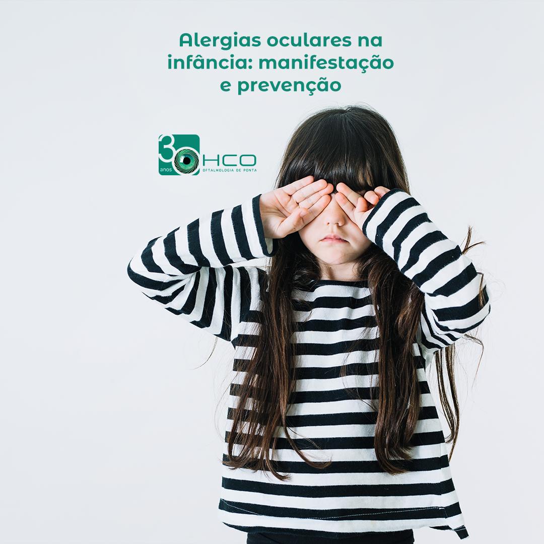 Alergias Oculares na infância