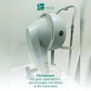 Pentacam no pré- operatório da cirurgia refrativa e da catarata.
