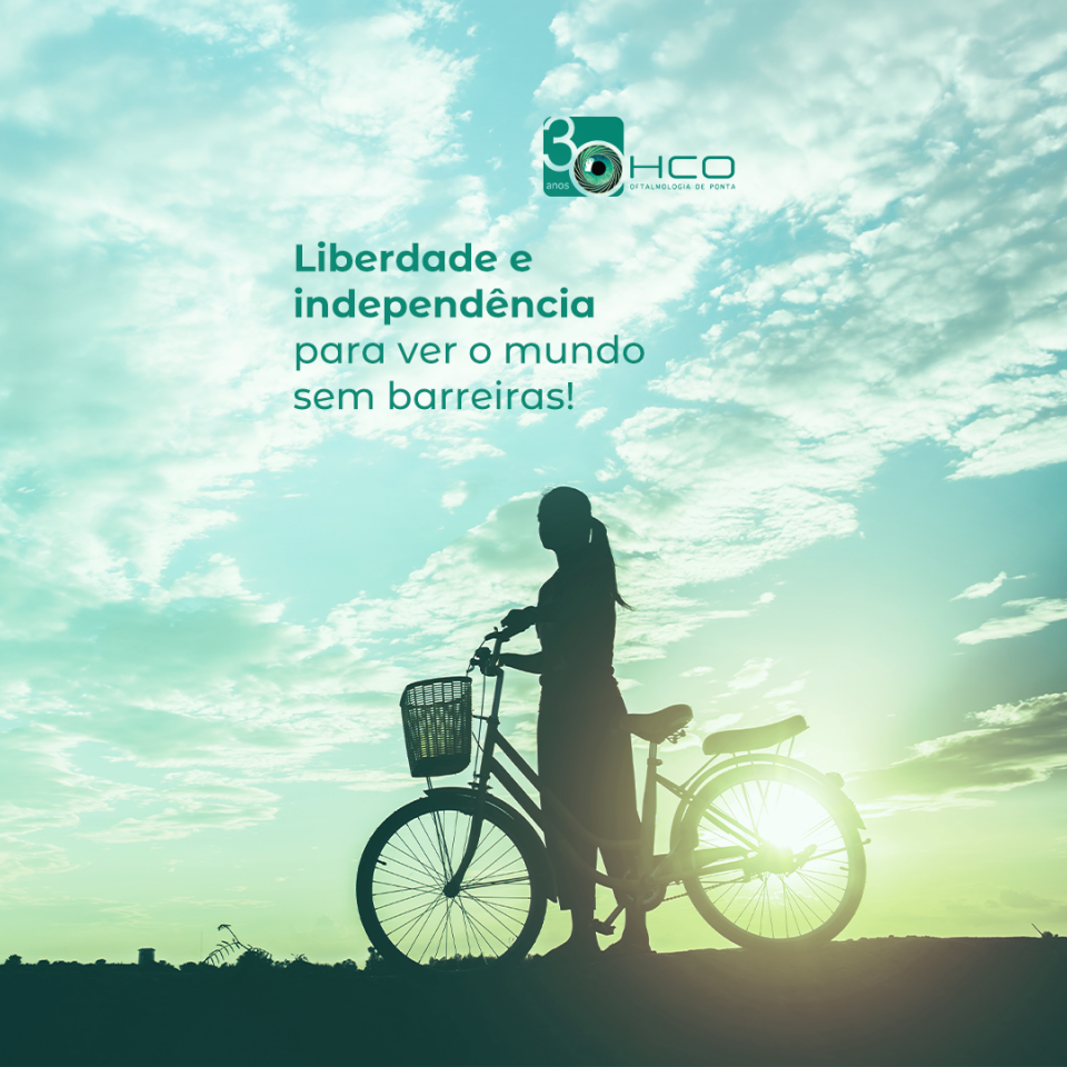 Liberdade e independência para ver o mundo sem barreiras!