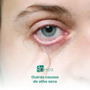 Outras causas de olho seco