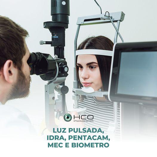 O HCO conta com diversos equipamentos de ponta para vários tipos de patologias que podem acometer os olhos.