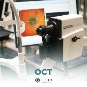 OCT ou Tomografia de Coerência Óptica