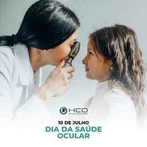 10 de Julho Dia da saúde ocular