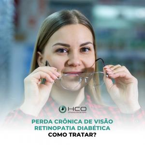 Perda crônica de visão: Retinopatia Diabética - como tratar?