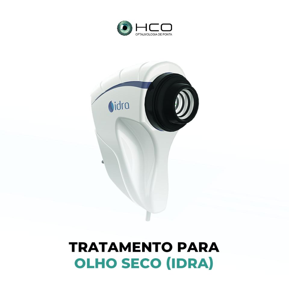 Tratamento para OLHO SECO (IDRA)