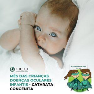 Doenças oculares infantis - Catarata congênita
