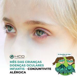 Doenças oculares infantis - Conjuntivite alérgica